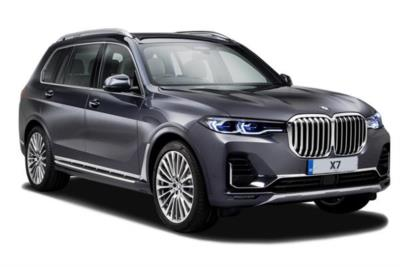 Bmw X7 Diesel Estate xDrive30d 5dr Step Auto [6 Seat] Business Contract Hire 6x35 10000