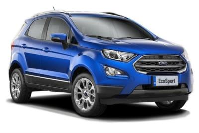 Ford Ecosport Diesel 1.5 EcoBlue Titanium 5dr Business Contract Hire 6x35 10000