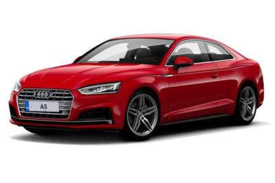 Audi A5 Coupe 45 Tfsi Quattro Black Edition 2dr S-Tronic [Tech Pack] Business Contract Hire 6x35 10000