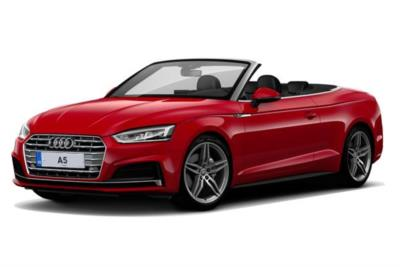Audi A5 Cabriolet 45 Tfsi Quattro Vorsprung 2dr S-Tronic Business Contract Hire 6x35 10000