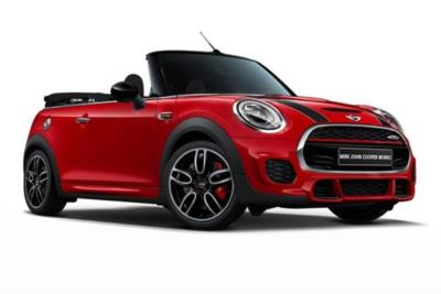 Mini Convertible 2.0 John Cooper Works II 2dr [Nav Pack] Business Contract Hire 6x35 10000