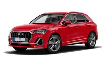 Audi Q3 Estate 40 TFSI Quattro S-Line 5dr S-Tronic [Comfort And Sound Pack] Business Contract Hire 6x35 10000