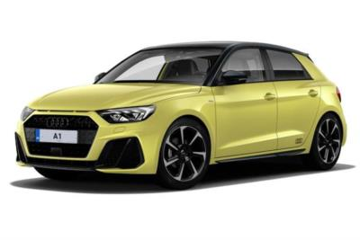 Audi A1 Sportback Special Editions 35 Tfsi S Line Contrast Edition 5dr S-Tronic [Tech Pack] Business Contract Hire 6x35 10000