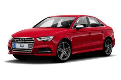 Audi A3 Saloon 50 S3 Tfsi Quattro Black Edition 4dr S-Tronic [Tech Pack] Business Contract Hire 6x35 10000