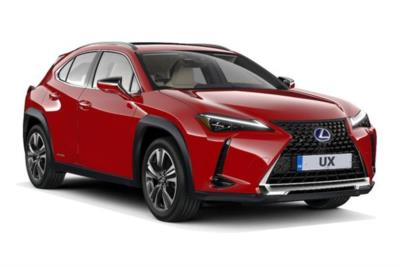Lexus UX Hatchback 250h E4 2.0 F-Sport 5dr CVT [Premium Plus/Sunroof] Business Contract Hire 6x35 10000