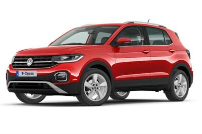 Volkswagen T-Cross Estate 1.0 Tsi 115 Sel 5dr Business Contract Hire 6x35 10000