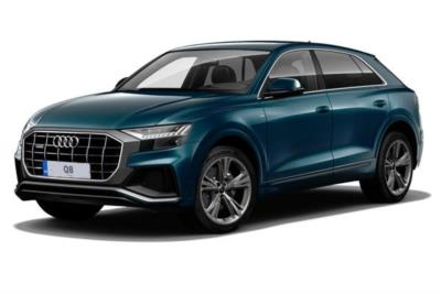 Audi Q8 Diesel Estate 50 TDI Quattro S Line 5dr Tiptronic [Comfort And Sound Pack] Business Contract Hire 6x35 10000