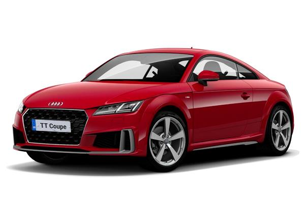Audi TT Coupe 45 TFSi Black Edition 2dr S-Tronic [Tech Pack] Business Contract Hire 6x35 10000