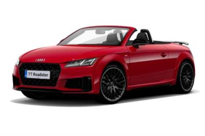 Audi TT Roadster 45 TFSi Quattro Black Edition 2dr S-Tronic Business Contract Hire 6x35 10000