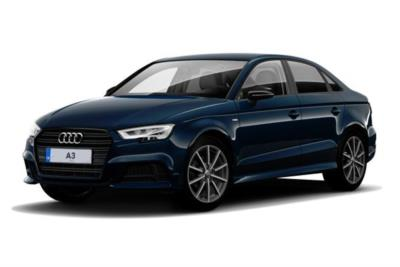 Audi A3 Saloon 40 Tfsi Quattro Black Edition 4dr S-Tronic Business Contract Hire 6x35 10000