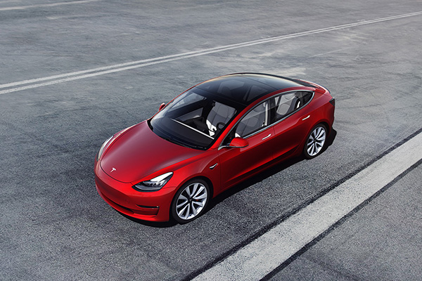 European electric car sales tops 100k for first time with Tesla Model 3 claiming market share