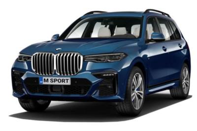 Bmw X7 Estate xDrive40i M Sport 5dr Step Auto [6 Seat] Business Contract Hire 6x35 10000