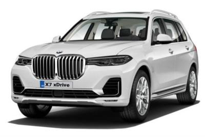 Bmw X7 Estate xDrive40i 5dr Step Auto [6 Seat] Business Contract Hire 6x35 10000