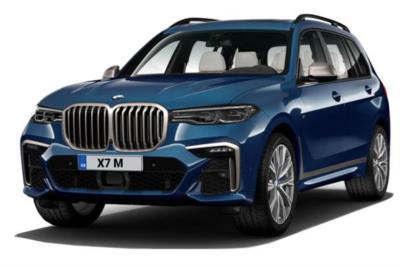 Bmw X7 Estate xDrive M50i 5dr Step Auto [6 Seat] Business Contract Hire 6x35 10000