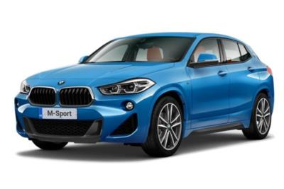 Bmw X2 Hatchback sDrive 18i M Sport 5dr Step Auto Business Contract Hire 6x35 10000