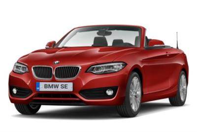 Bmw 2 Series Convertible 218i Se 2dr (Nav) 6Mt Business Contract Hire 6x35 10000