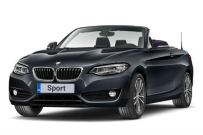 Bmw 2 Series Convertible 218i Sport 2dr (Nav) 6Mt Business Contract Hire 6x35 10000