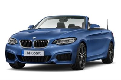 Bmw 2 Series Convertible 218i M Sport 2dr (Nav) 6Mt Business Contract Hire 6x35 10000