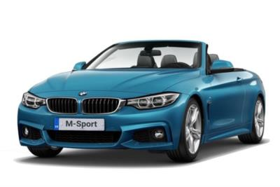 Bmw 4 Series Convertible 420i M Sport Professional Media 2dr Auto Business Contract Hire 6x35 10000