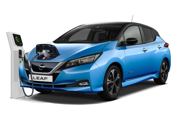 Nissan Leaf Hatchback 160kW e+ Tekna 62kWh 5dr Auto Business Contract Hire 6x35 10000