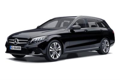 Mercedes Benz C Class Diesel Estate C220d 4Matic AMG Line Edition 5dr 9G-Tronic Business Contract Hire 6x35 10000