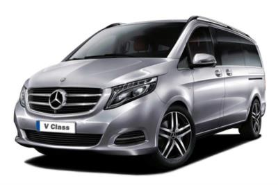 Mercedes Benz V Class Diesel Estate V300d AMG Line 5dr 9G-Tronic (Extra Long) Business Contract Hire 6x35 10000
