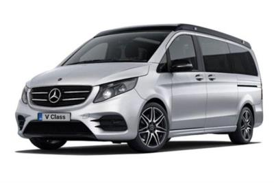 Mercedes Benz V Class Diesel Estate V300d Marco Polo AMG Line 4dr 9G-Tronic (Long) Business Contract Hire 6x35 10000