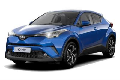 Toyota C-HR Hatchback 2.0 Hybrid Design 5dr CVT [Leather] Business Contract Hire 6x35 10000