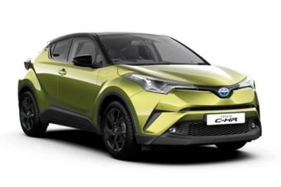 Toyota C-HR Hatchback Special Edtion 1.8 Hybrid Lime Edition CVT Business Contract Hire 6x35 10000
