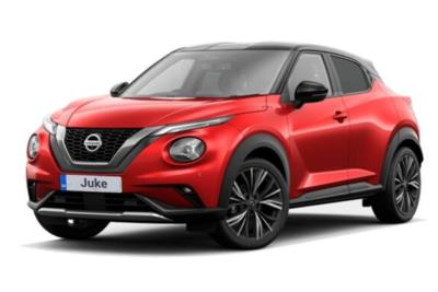Nissan Juke Hatchback 1.0 DiG-T Tekna Plus 5dr DCT Business Contract Hire 6x35 10000