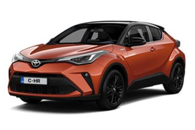 Toyota C-HR Hatchback Special Edtion 1.8 Hybrid Orange Edition CVT Business Contract Hire 6x35 10000
