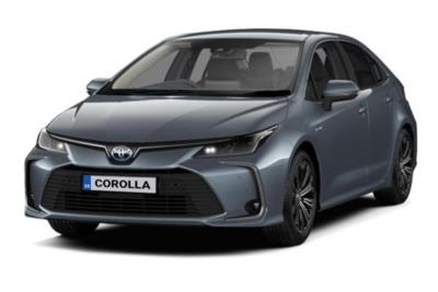 Toyota Corolla Hybrid Saloon 1.8 VVTi Hybrid Design 4dr CVT Business Contract Hire 6x35 10000