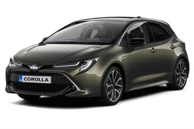 Toyota Corolla Hybrid Hatchback 1.8 VVTi Hybrid Excel 5dr CVT [Bi-Tone] Business Contract Hire 6x35 10000