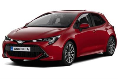 Toyota Corolla Hybrid Hatchback 2.0 VVT-i Hybrid Design 5dr CVT [Panoramic Roof] Business Contract Hire 6x35 10000
