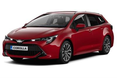 Toyota Corolla Touring Sport 2.0 VVTi Hybrid Design 5dr CVT Business Contract Hire 6x35 10000