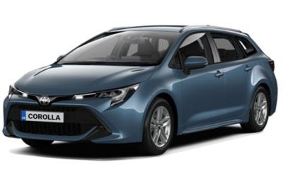 Toyota Corolla Touring Sport 1.8 VVTi Hybrid Icon Tech 5dr CVT Business Contract Hire 6x35 10000