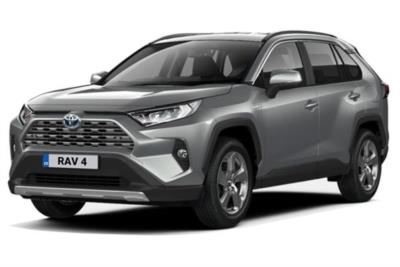 Toyota Rav4 Estate 2.5 VVTi Hybrid Design 5dr CVT 4WD Business Contract Hire 6x35 10000