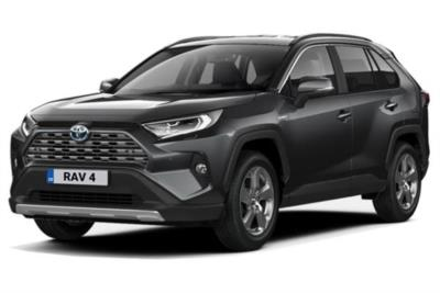 Toyota Rav4 Estate 2.5 VVTi Hybrid Excel 5dr CVT  [JBL/PVM] 2WD Business Contract Hire 6x35 10000