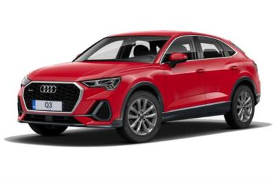 Audi Q3 Diesel Sportback 35 Tdi S-Line 5dr S-Tronic [Comfort and Sound Pack] Business Contract Hire 6x35 10000