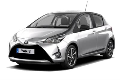 Toyota Yaris Hybrid 1.5 Hybrid Y20 5dr CVT Business Contract Hire 6x35 10000