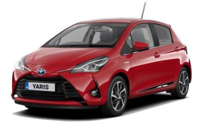 Toyota Yaris Hybrid 1.5 Vvti Hybrid Excel 5dr (Pan Roof ) CVT Auto Business Contract Hire 6x35 10000