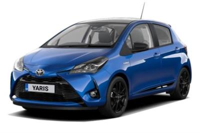 Toyota Yaris Hybrid 1.5 Hybrid GR-Sport 5dr CVT Business Contract Hire 6x35 10000