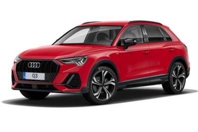 Audi Q3 Estate Special Editions 40 Tfsi Quattro Edition 1 5dr S-Tronic Business Contract Hire 6x35 10000