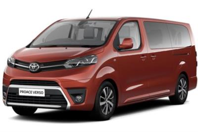 Toyota Proace Verso Diesel Estate 2.0 D 180 VIP Long 5dr 8 Speed Auto Business Contract Hire 6x35 10000