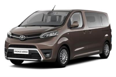 Toyota Proace Verso Diesel Estate 2.0 D180 Family Compact 5dr 8 Speed Auto Business Contract Hire 6x35 10000