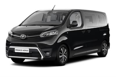 Toyota Proace Verso Diesel Estate 2.0 D 180 Family Medium 5dr 8 Speed Auto Business Contract Hire 6x35 10000
