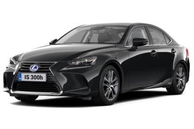 Lexus IS Saloon 300h 4dr CVT Auto [Comfort Pack Sunroof] Business Contract Hire 6x35 10000