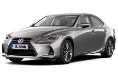 Lexus IS Saloon 300h 4dr CVT Auto [Premium Pack Sunroof] Business Contract Hire 6x35 10000