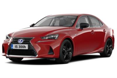Lexus IS Saloon 300h F-Sport 4dr CVT Auto [Premium Pack Sunroof] Business Contract Hire 6x35 10000