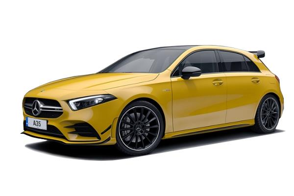 Mercedes A Class AMG Hatchback A35 4Matic 5dr Auto leasing from £289.59 per month